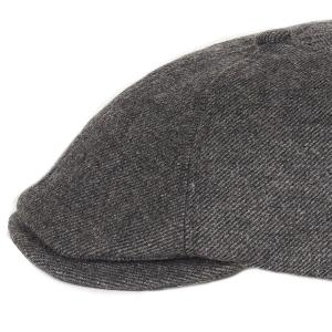 Barbour Claymore Baker Boy Hat Charcoal Grey