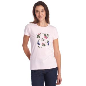 Barbour Ladies Everly Tee Rose