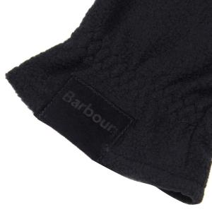 Barbour Fleece Country Gloves Black