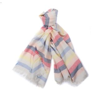 Barbour Freya Rainbow Wrap Multi Stripe