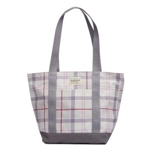 Barbour Kirkaldy Bag Printed Platinum Tartan
