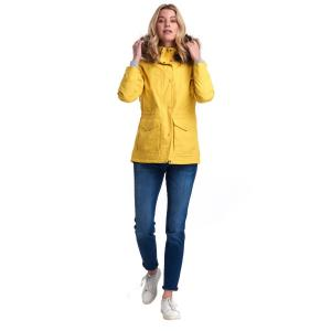 Barbour Ladies Abalone Jacket Sulphur Yellow