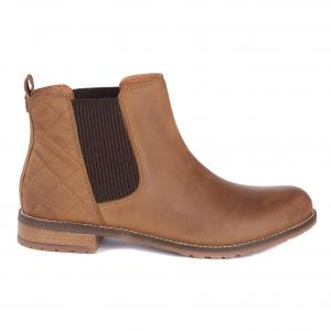 Barbour Ladies Abigail Boots Cognac