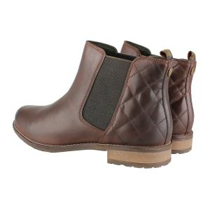 Barbour Ladies Abigail Boots Wine Mix
