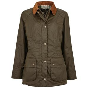 Barbour Ladies Aintree Wax Jacket Archive Olive
