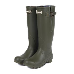 Barbour Ladies Amble Wellington Boots Olive