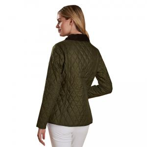 Barbour Ladies Annadale Quilt Jacket Olive