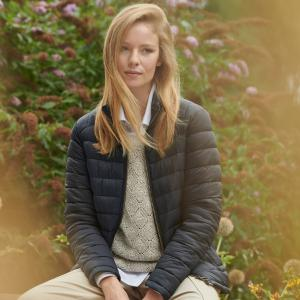 Barbour Ladies Ashridge Quilt Jacket Navy