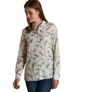 Barbour Ladies Bowfell Shirt White Dragonfly