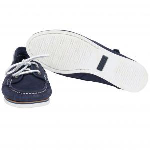 Barbour Ladies Bowline Boat Shoes Navy