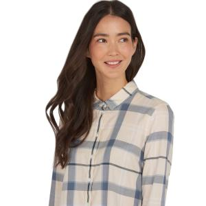 Barbour Ladies Bredon Shirt Mist/Cloud