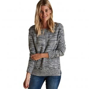 Barbour Ladies Deck Knit Sweater Cloud Mix