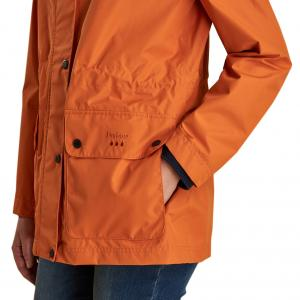 Barbour Ladies Drizzel Jacket Marigold
