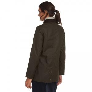 Barbour Ladies Fiddich Wax Jacket Olive Classic