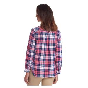 Barbour Ladies Haley Shirt Tayberry Lupin Check