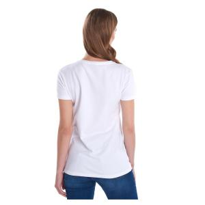 Barbour Ladies Harbourside Tee White
