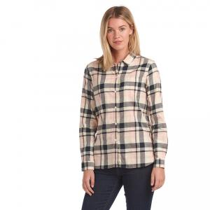 Barbour Ladies Hedley Shirt Navy/Pink Check