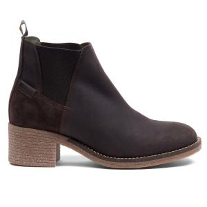 Barbour Ladies Keren Chelsea Boots Brown Leather