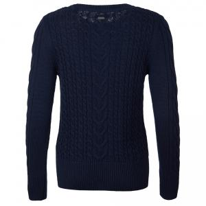 Barbour Ladies Lewes Knit Sweater Navy