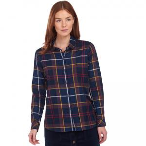 Barbour Ladies Moorland Shirt Navy/Check