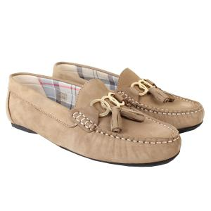 Barbour Ladies Nadia Shoes Taupe