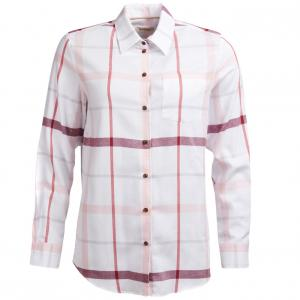 Barbour Ladies Oxer Shirt Powder Pink Check