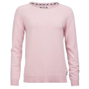Barbour Ladies Pendle Crew Sweater Rose