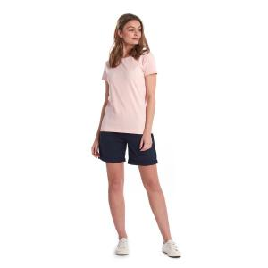 Barbour Ladies Rebecca Tee Pale Coral