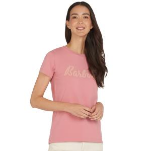 Barbour Ladies Rebecca Tee Sherbet