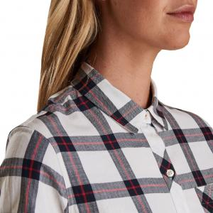 Barbour Ladies Skysail Shirt White/Navy