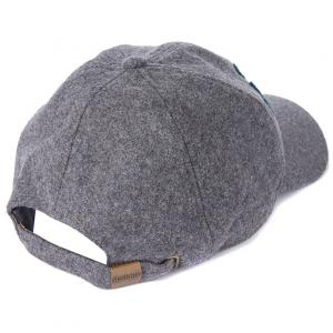 Barbour Lanton Sports Cap Grey/Seaweed