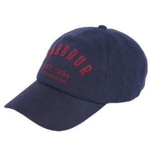 Barbour Logo Wool Cap Navy