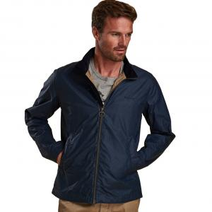 Barbour Mens Admiralty Wax Jacket Dark Denim