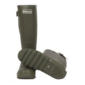 Barbour Mens Amble Wellington Boots Olive