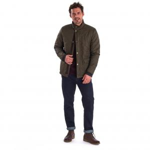 Barbour Mens Blunk Polarquilt Jacket Olive