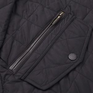 Barbour Mens Chelsea Sportsquilt Jacket Black