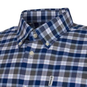 Barbour Mens Country Check 15 Regular Shirt Olive