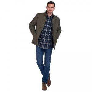 Barbour Mens Country Check 20 Regular Shirt Blue