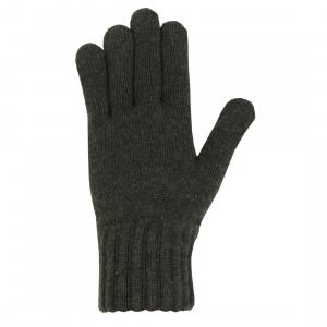 Barbour Mens Lambswool Gloves Olive