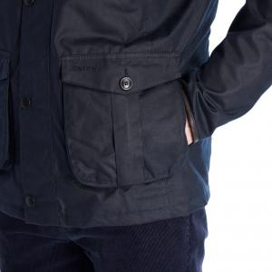 Barbour Mens Latrigg Wax Jacket Navy