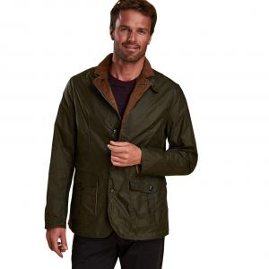 Barbour Mens Lightweight Sander Wax Jacket Archive Olive