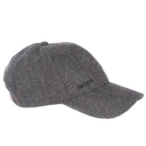 Barbour Mens Oakwell Cap Grey