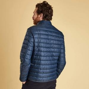 Barbour Mens Penton Quilt Jacket Navy
