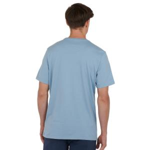 Barbour Mens Preppy Tee Powder Blue