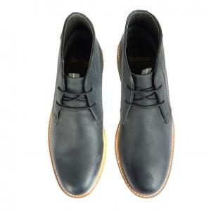 Barbour Mens Readhead Leather Boots Black