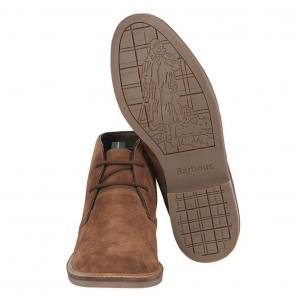 Barbour Mens Redhead Boots Caramel Suede