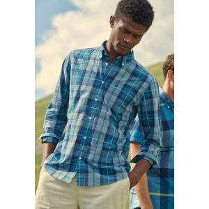 Barbour Mens Sandwood Shirt Aqua