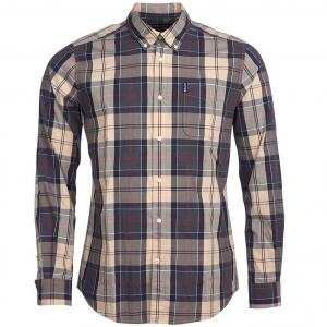 Barbour Mens Sandwood Shirt Stone
