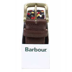 Barbour Mens Tartan Stretch Belt Gift Box Classic