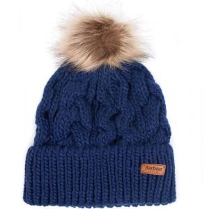 Barbour Penshaw Cable Beanie Navy